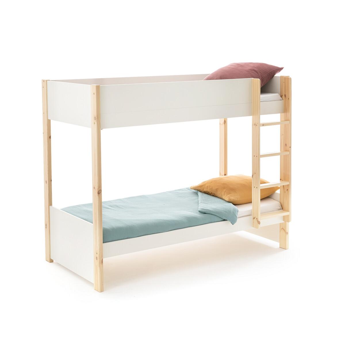 Кровать LaRedoute Двухъярусная Meeting 90 x 190 см белый
