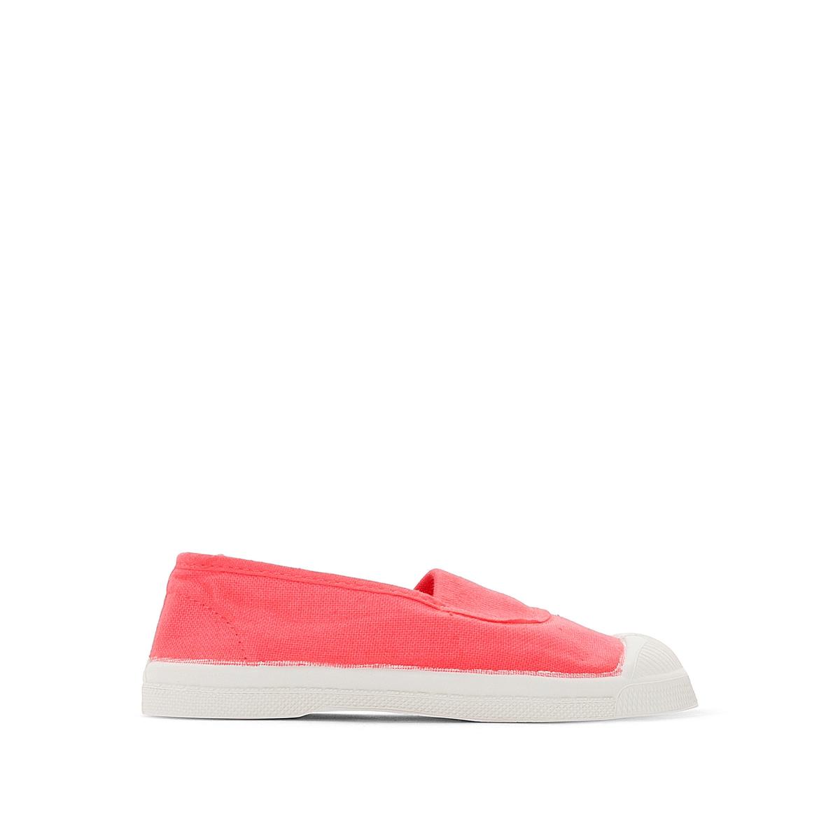 Кеды  ElastiqueДетали •  Спортивный стиль •  Плоский каблук •  Застежка : эластичная вставкаСостав и уход • Верх 100% хлопок •  Подкладка 100% текстиль •  Стелька 100% текстиль •  Подошва 100% каучук<br><br>Цвет: розовый