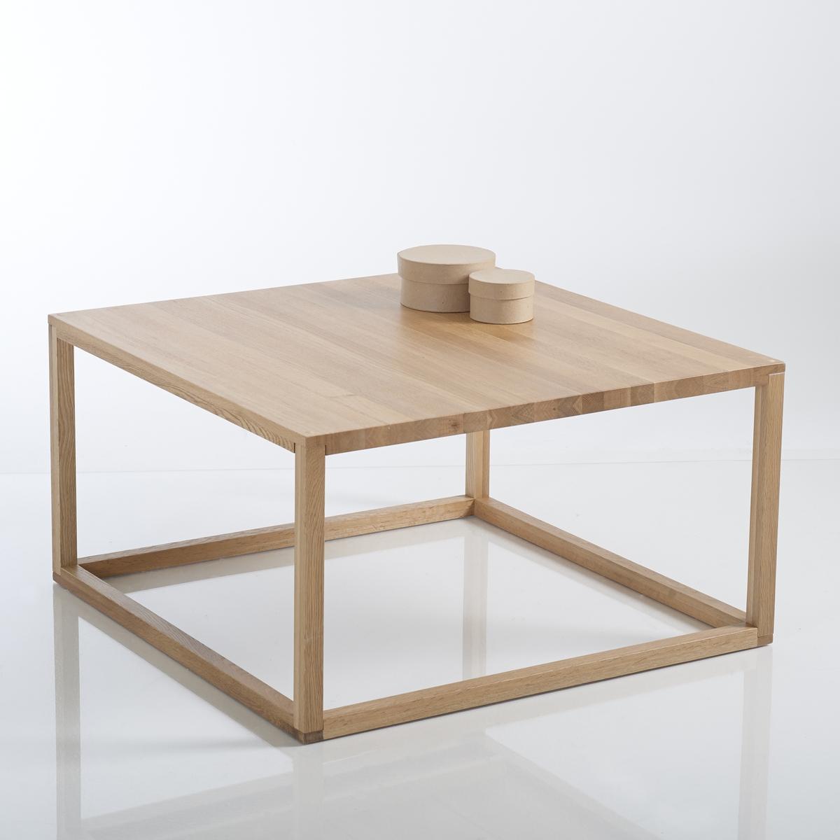 Столик журнальный кубический, Crueso столик журнальный квадратный из массива дуба crueso