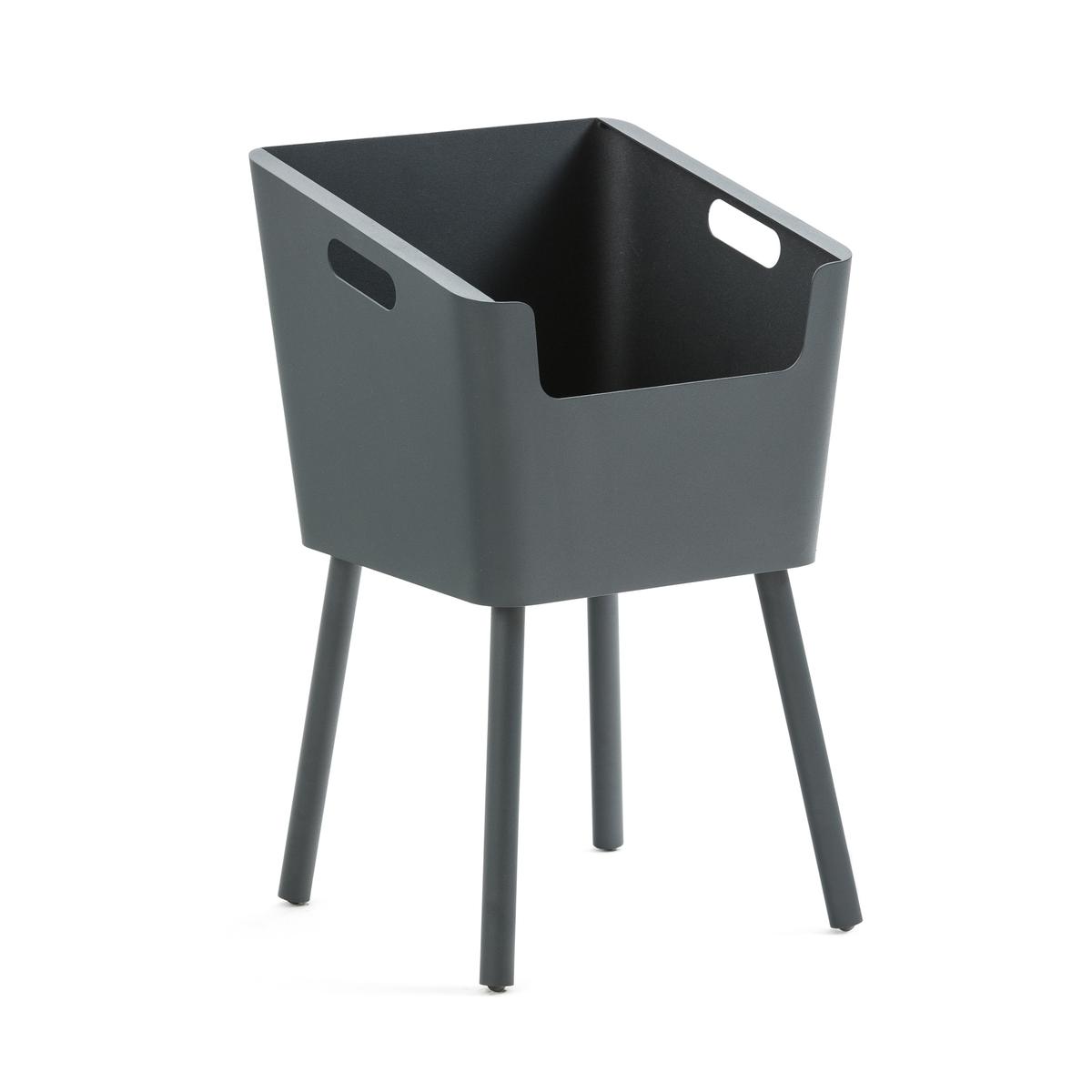 Столик LaRedoute Прикроватный из металла Monbefi единый размер серый