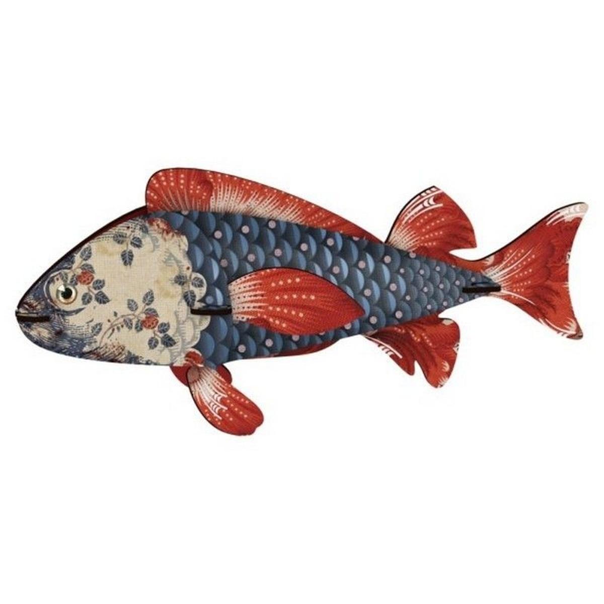 trophée poisson décoratif Heartbreaker