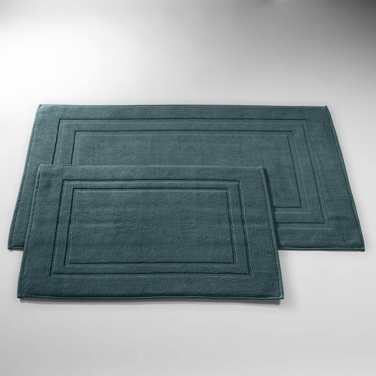 Коврик для ванной, 1100 г/м?, качество BestХарактеристики коврика для ванной  :- Махровая ткань, 100% хлопок, очень густая и впитывающая (1100 г/м?).- Машинная стирка при 60 °С.Размеры коврика для ванной :40 x 50 см  коврик в форме умывальника50 x 70 см  : прямоугольный коврик. для душа- 60 x 60 см :  квадратный коврик для душа- 60 x 100 см : прямоугольный коврик. для ваннойПроизводство осуществляется с учетом стандартов по защите окружающей среды и здоровья человека, что подтверждено сертификатом Oeko-tex®.  .<br><br>Цвет: сине-зеленый