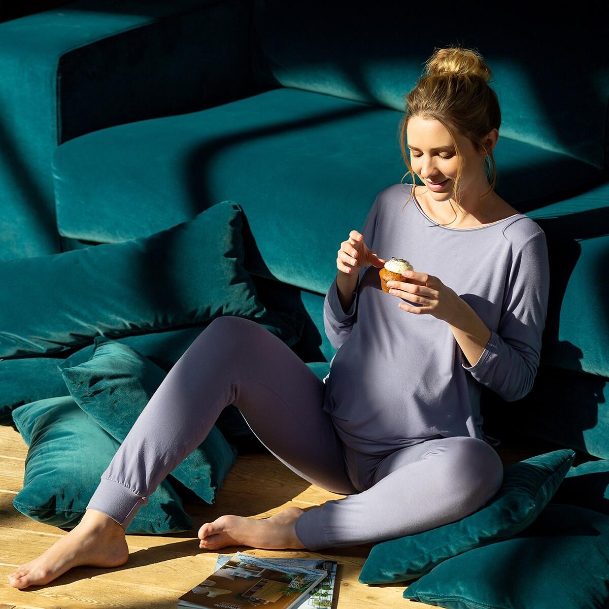 Леггинсы La Redoute Для периода беременности Sofia L серый джинсы la redoute узкие для периода беременности 36 fr 42 rus серый
