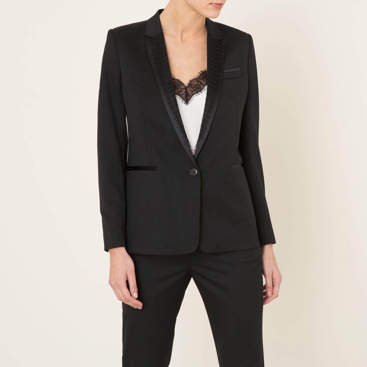 Пиджак костюмный от La Redoute