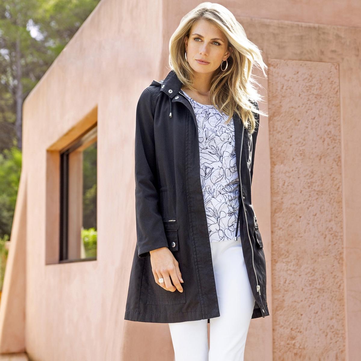 Imagen adicional 2 de producto de Pantalón recto de 5 bolsillos de algodón stretch - Anne weyburn