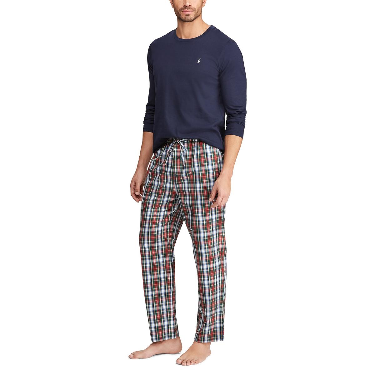 Пижама La Redoute Длинная в подарочной коробке L синий цена 2017