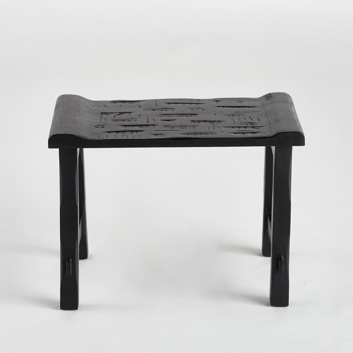 Табурет MonbriaТабурет Monbria может также использоваться как вспомогательный столик или ночной столик.Характеристики : - Из мангового дерева черного цвета - Поставляется в собранном виде Размеры : - Ш.34,5 x В.47 x Г.26,5 см Размеры и вес упаковки :- Ш.54 x В.43 x Г.34 см, 5 кг<br><br>Цвет: черный