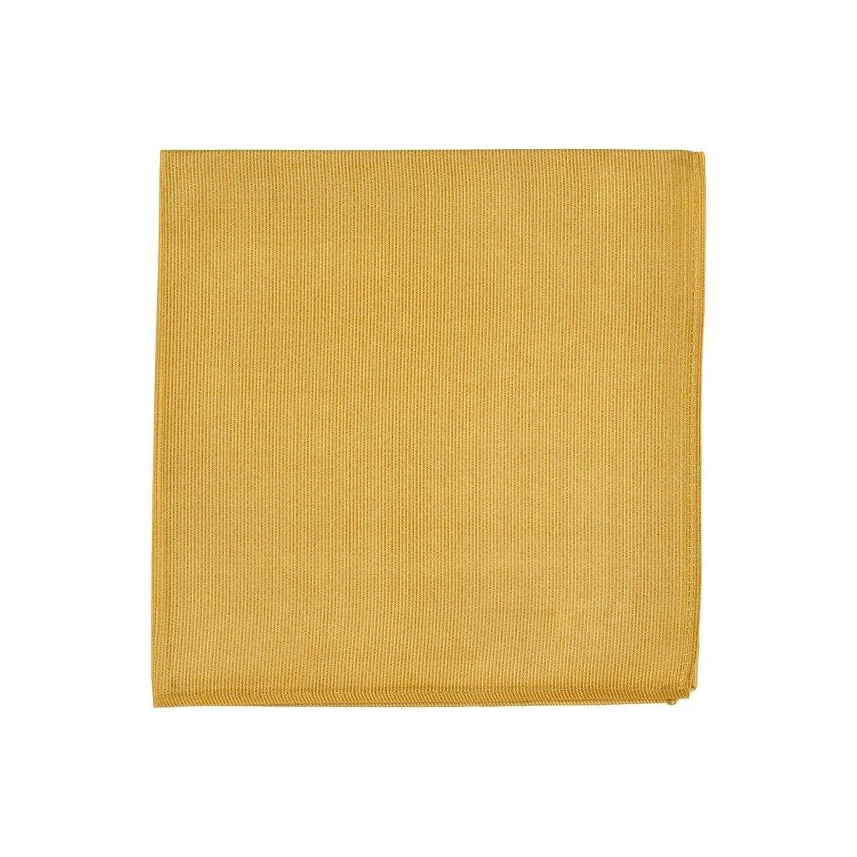Pochette costume unie twill de soie