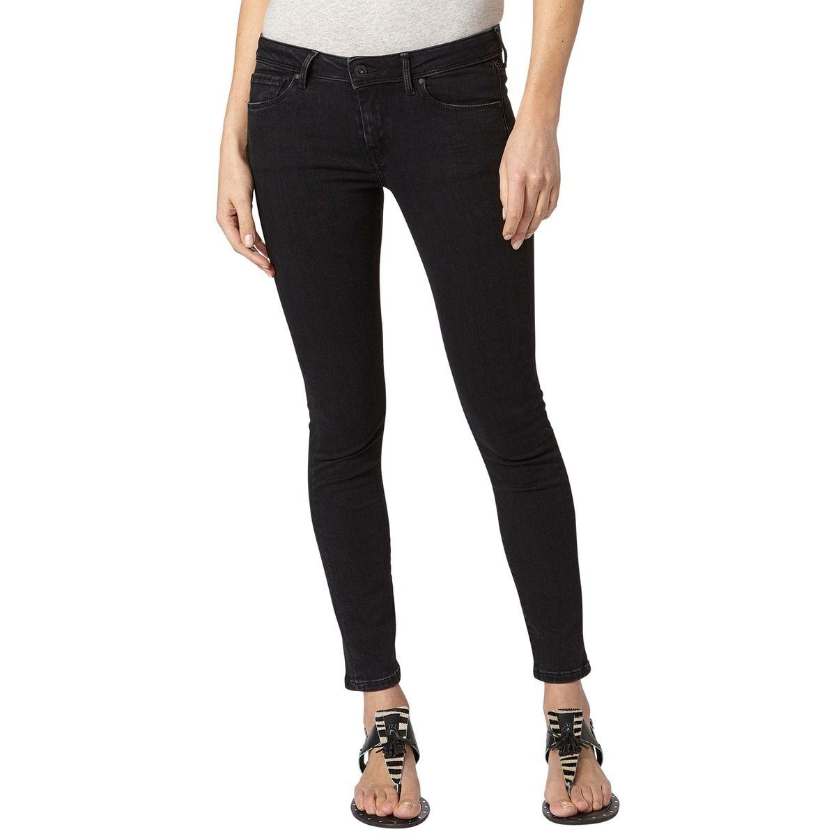 Jean skinny lola noir-noir