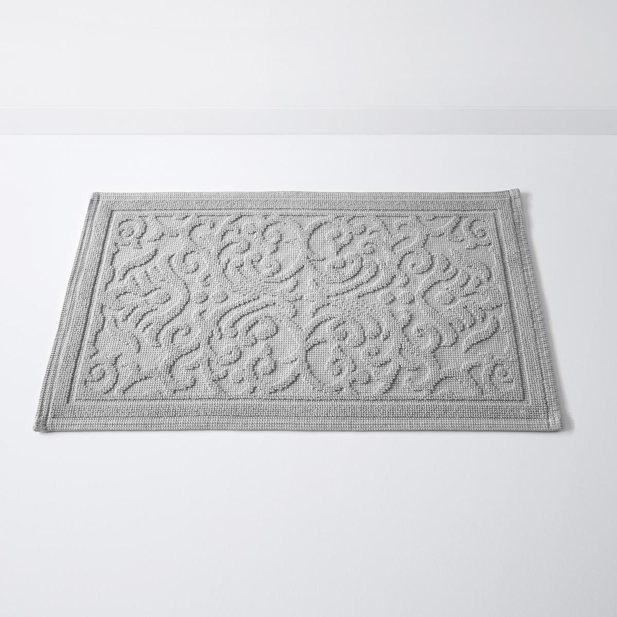 Коврик для ваннойс рельефным рисункомDAMASK, 100% хлопок (1500 г/м?)Коврик для ванной, качество Best, с рельефным рисунком, 100% хлопок. Изысканный рельефный рисунок украшает этот коврик для ванной, который принесет в Вашу ванную комнату 100% декора высшего класса и 100% качества Best! Характеристики:Материал: 100% хлопок (1500 г/м?).Противоскользящее покрытие с изнанки.Уход:Машинная стирка при 60°С.Размеры:50 x 70 см.<br><br>Цвет: бледно-розовый,серо-синий<br>Размер: 50 x 80  см