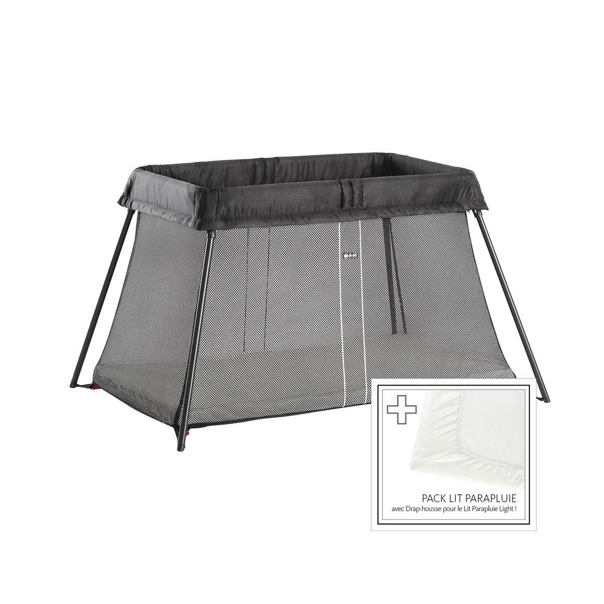 Lit parapluie + Drap housse inclus 640001