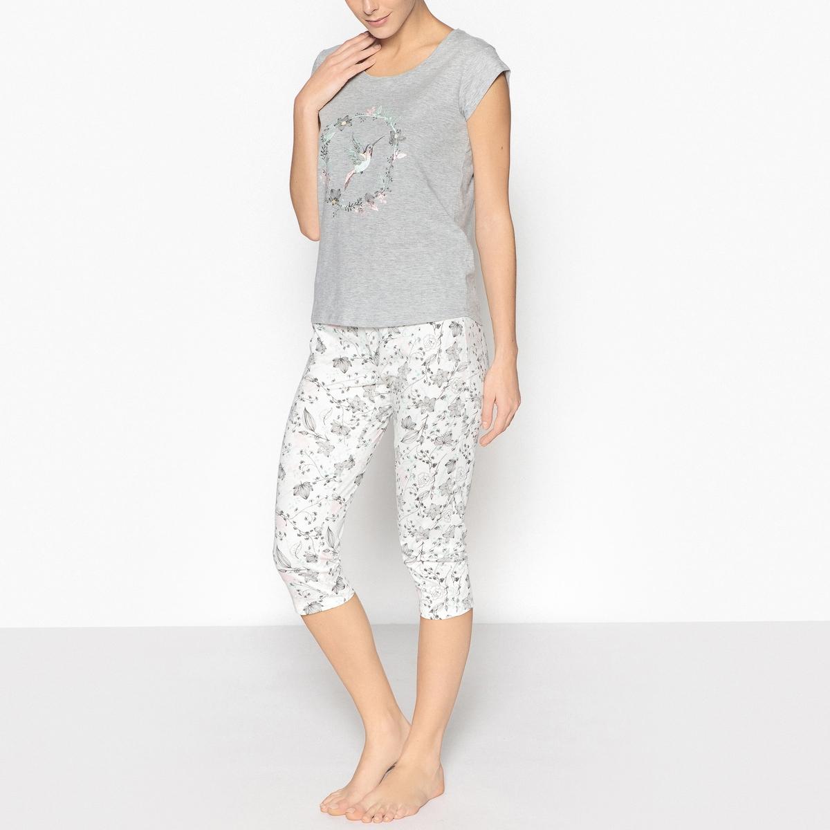 Пижама с рисунком La Redoute Collections