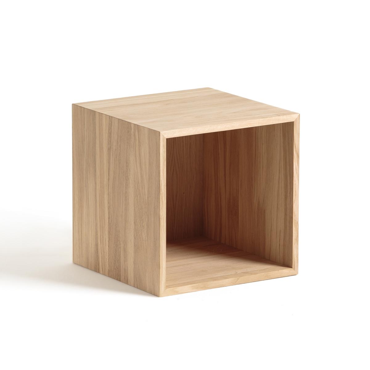 Тумба La Redoute Kouzou Ш см дизайн Э Галлины из дуба единый размер каштановый стул для сада ambros дизайн э галлины