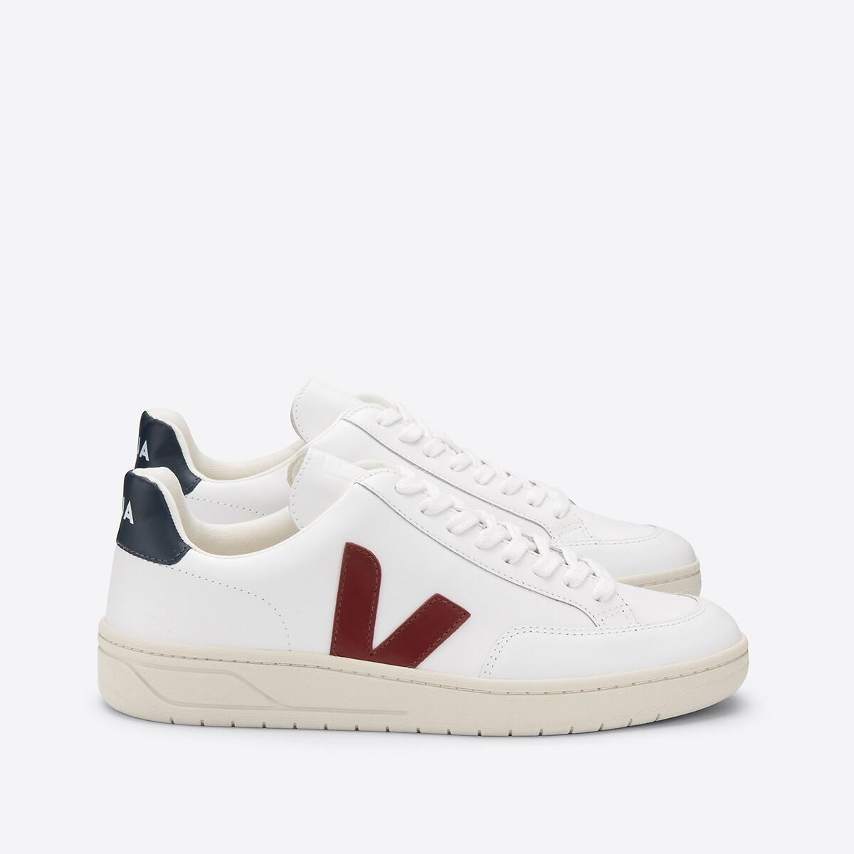 Кеды La Redoute Кожаные на шнуровке V 41 разноцветный кеды la redoute низкие кожаные nicky 41 белый