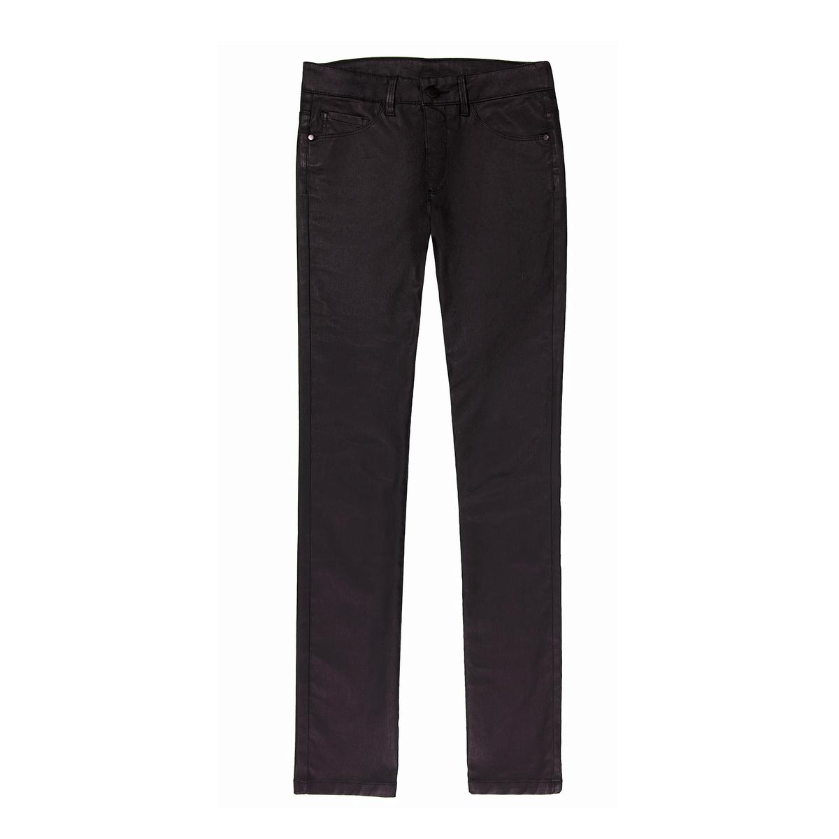 Jeans direitos revestidos