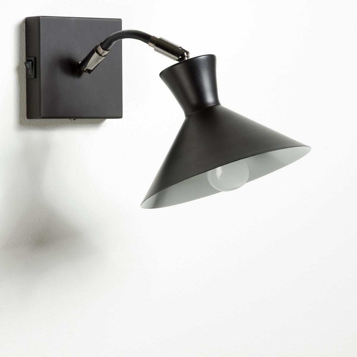 Светильник Voltige из металлаСветильник из металла с эпоксидным покрытием .Строгий и функциональный дизайн светильника, который найдет свое место в любой комнате . Патрон E14 для лампочки макс 11 Вт (не входит в комплект)  .Квадратный низ с выключателем .Размер светильника   : Ширина 17 x Высота 26 см x глубина. 28 см.Размеры основания: 10 x 10 см. Толщина 2,5 см.Этот светильник совместим с лампочками    энергетического класса  A .Это изделие может использоваться в комнате детей старше 14 лет согласно действующему стандарту.<br><br>Цвет: белый,медный,черный