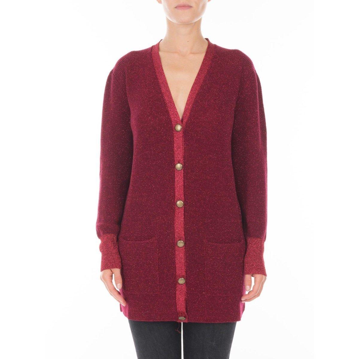 Cardigan en laine Merinos et maille Fil textile Picadilly