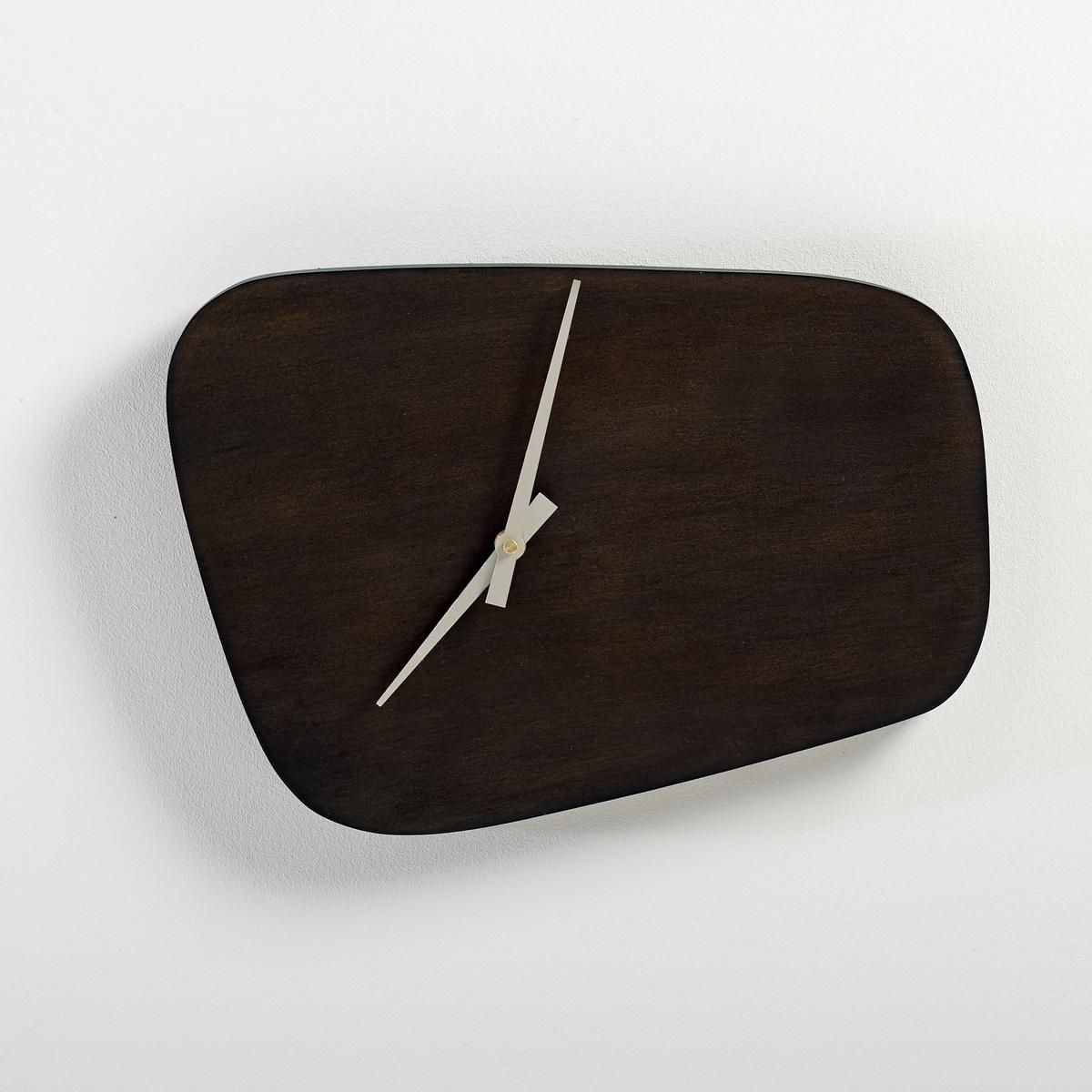 Часы винтажные, KildaЧасы винтажные, Kilda. Стиль 50-х годов вдохновил нас на создание этих часов с оригинальным дизайном.Характеристики винтажных часов Kilda:Структура: МДФ, тонированный орех.Работает с 1 батарейкой типа LR6 1,5V (в комплект не входит).Кварцевый механизм.Другие модели серии Kilda вы можете найти на сайте laredoute.ru. Размеры винтажных часов Kilda:Ширина: 35,5 см. Высота: 25 см. Длина: 28 см.<br><br>Цвет: каштановый<br>Размер: единый размер