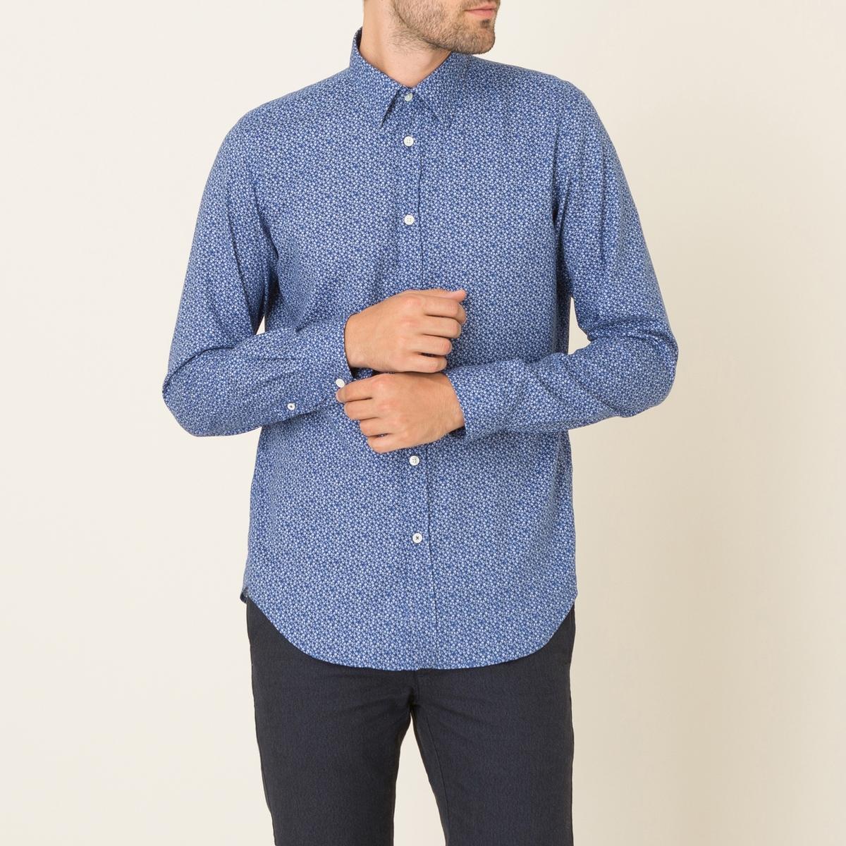 Рубашка SAMMYСостав и описание      Материал : 100% хлопок  Марка : HARTFORD<br><br>Цвет: синий