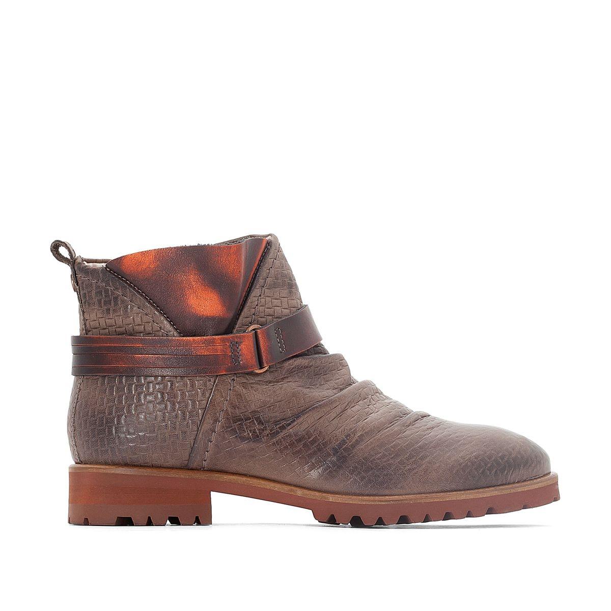 Boots cuir Seven