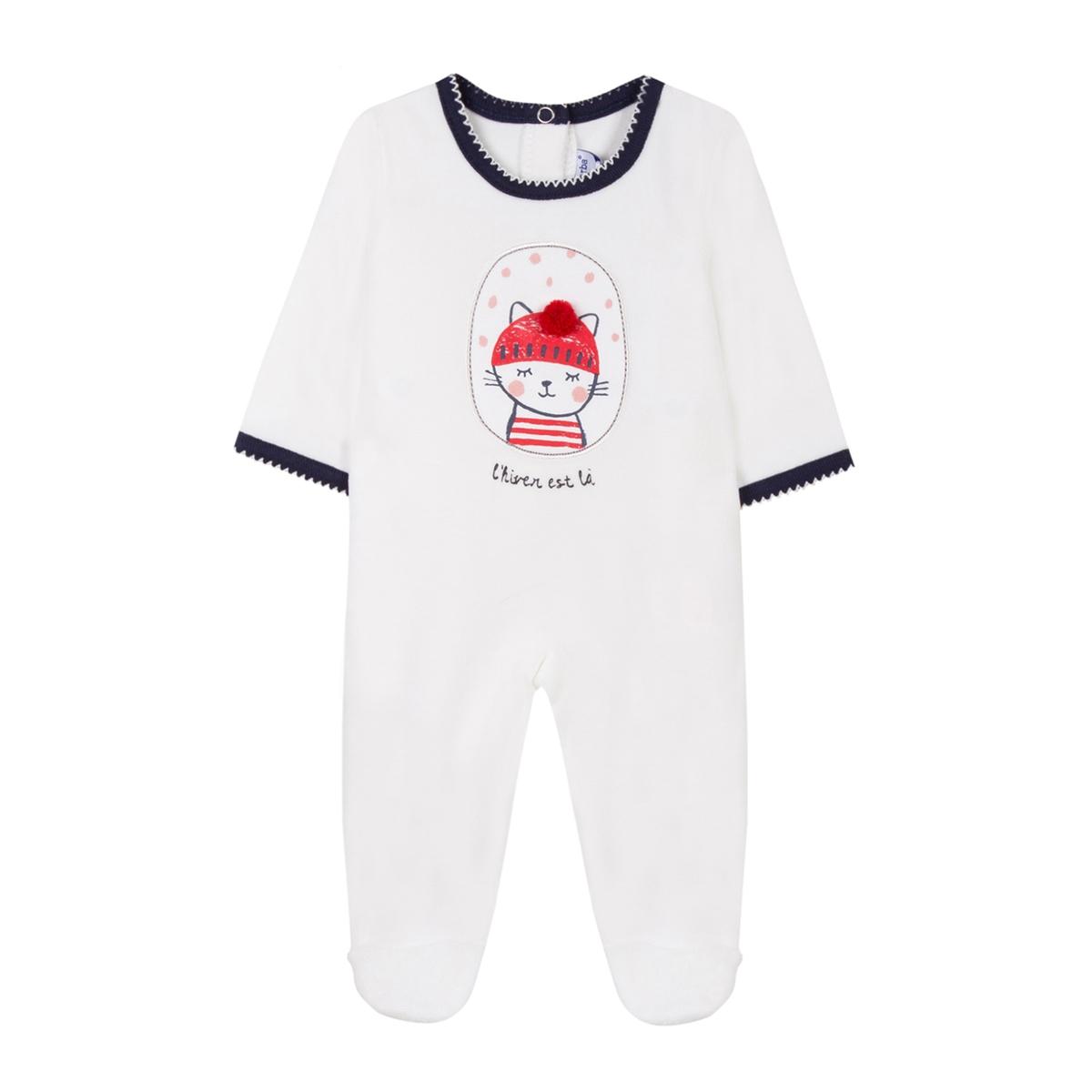 Пижама из велюра 3 мес - 18 мес зимняя детская одежда для девочек теплые мальчики rompers 3 6 9 18 месяцев пижама костюм для малышей детский комбинезон весенняя