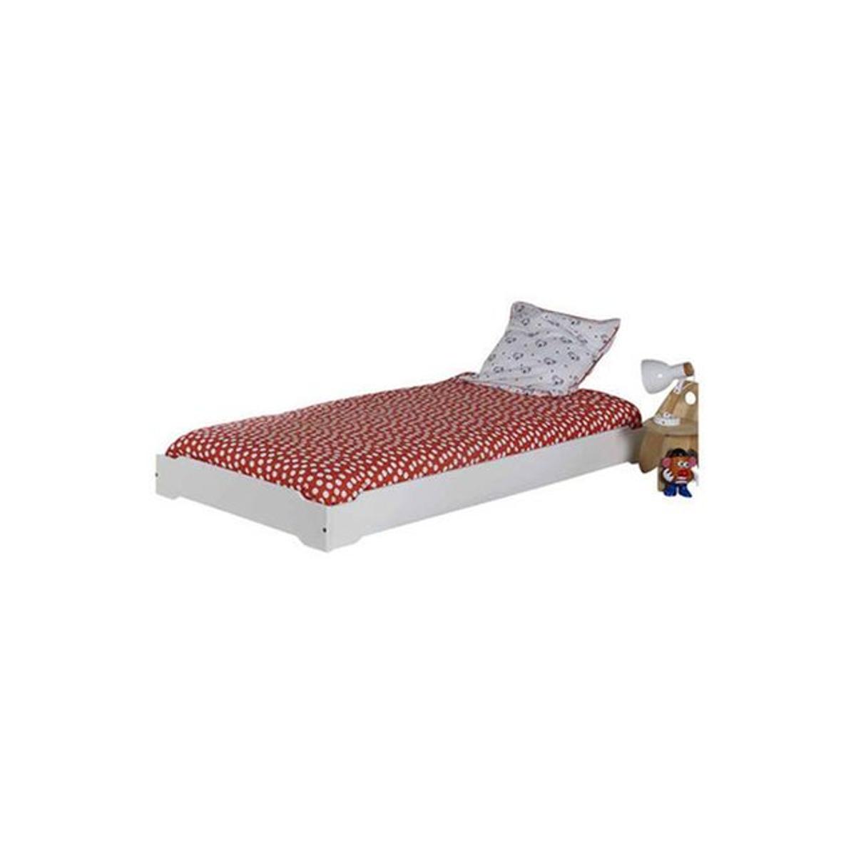 Pack lit enfant empilable avec sommier et matelas Berry