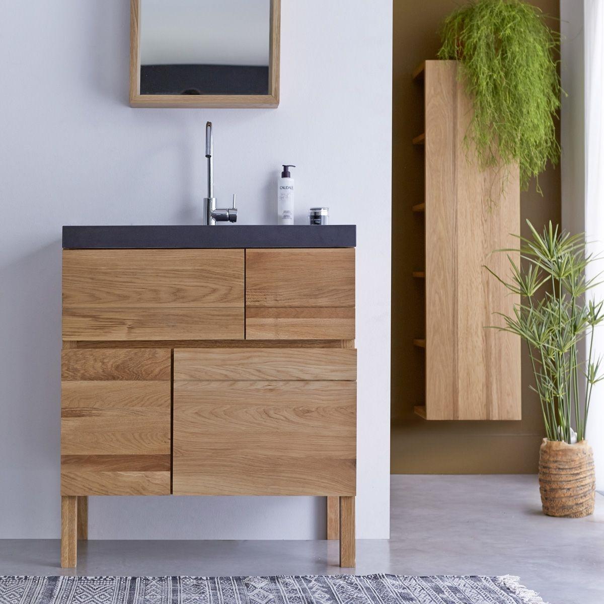Colonne Salle De Bain Tikamoon ~ meuble de salle de bain