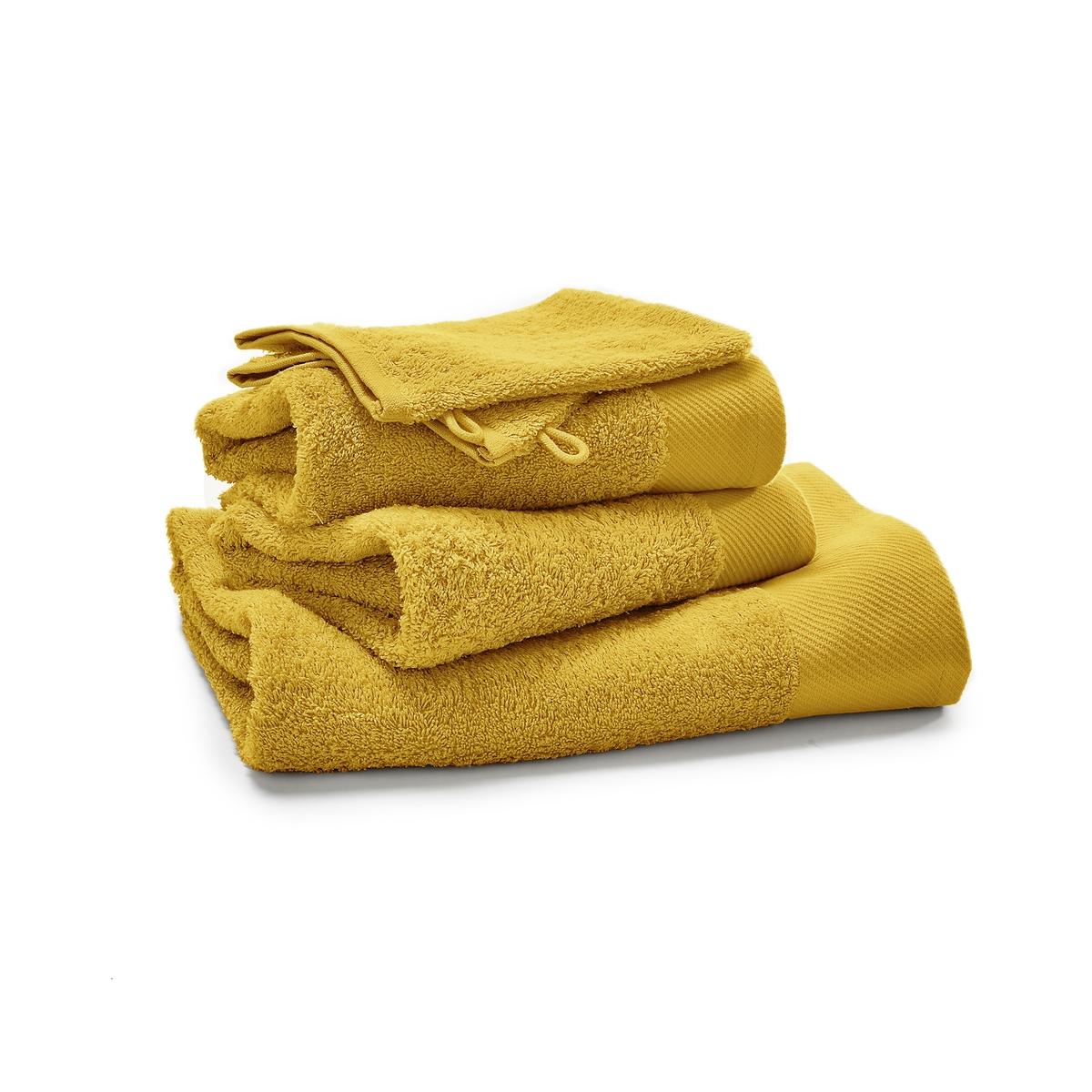 5 однотонных LaRedoute Банных принадлежностей из махровой ткани 500 гм Scenario единый размер желтый 5 однотонных laredoute банных принадлежностей из махровой ткани 500 гм scenario единый размер синий