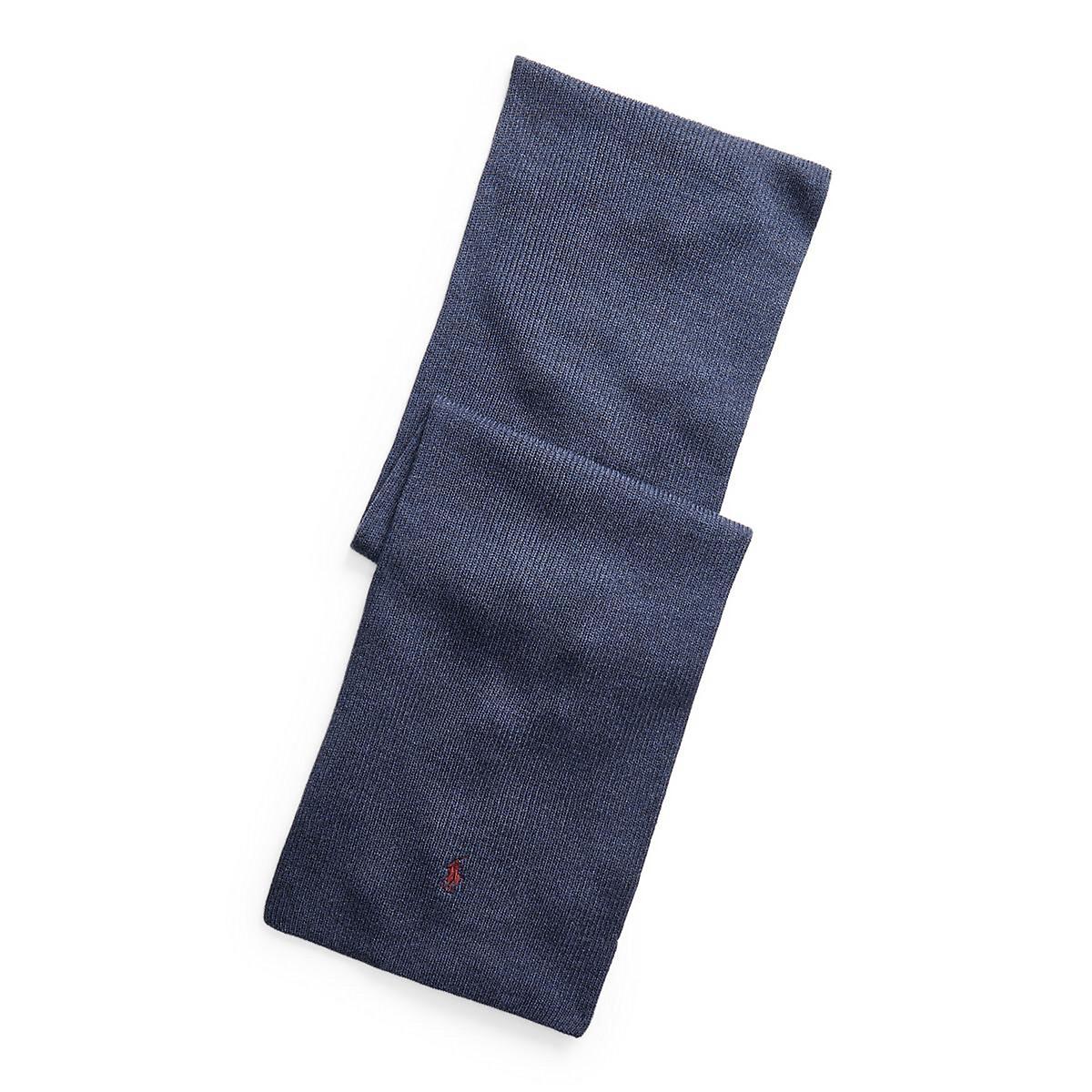 Шарф LaRedoute La Redoute UNI синий жакет la redoute средней длины field демисезонная модель s синий