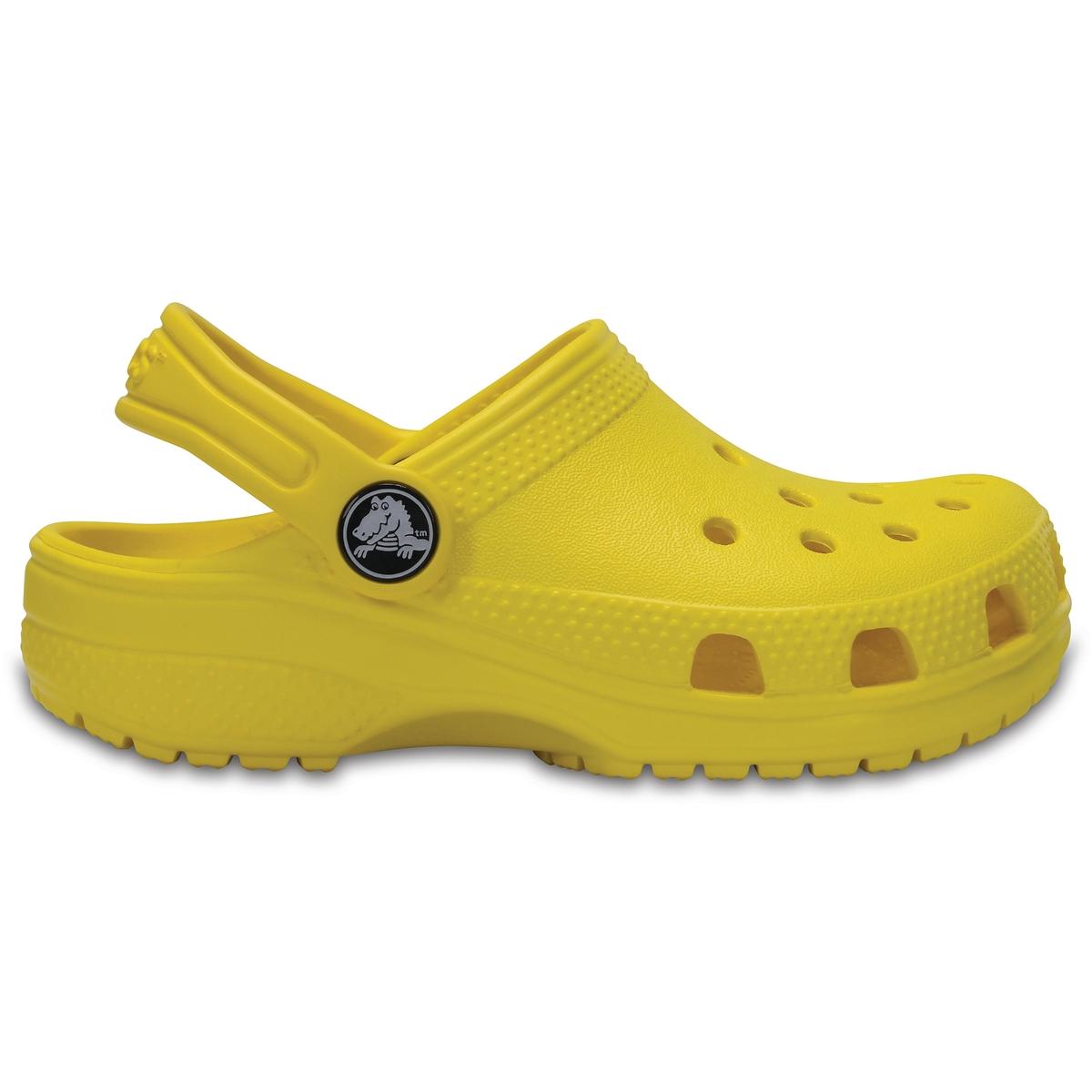Сабо Classic Clog KidsОписание:Детали •  Сабо •  Высота каблука : 1,5 см •  Застежка : ремешок/пряжка •  Круглый мысок •  Гладкая отделкаСостав и уход •  Верх/Голенище : 100% синтетический материал •  Подошва : 100% синтетический материал<br><br>Цвет: желтый,светло-зеленый,темно-синий<br>Размер: 32/33.34/35.24/25.32/33