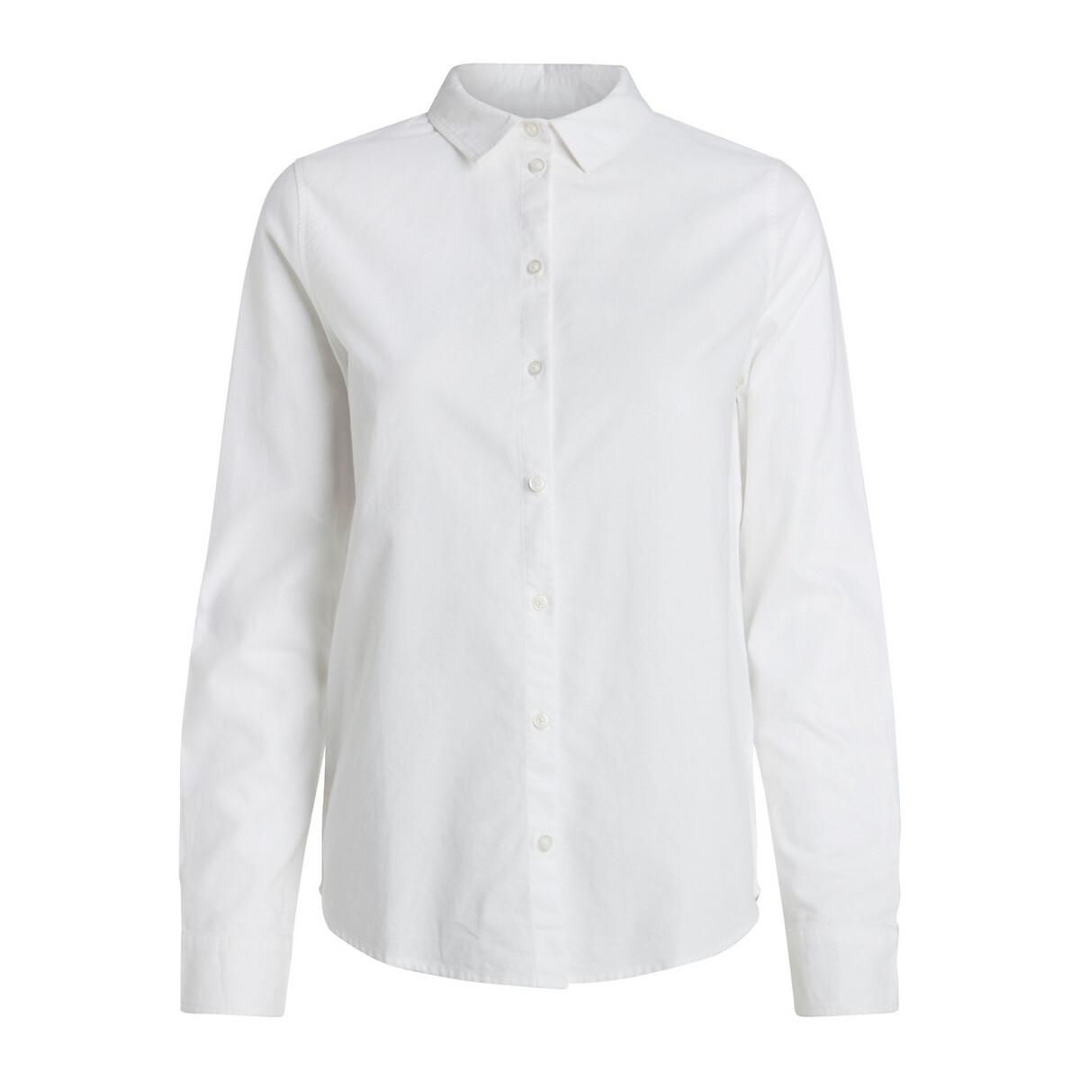 Chemise en coton, coupe droite