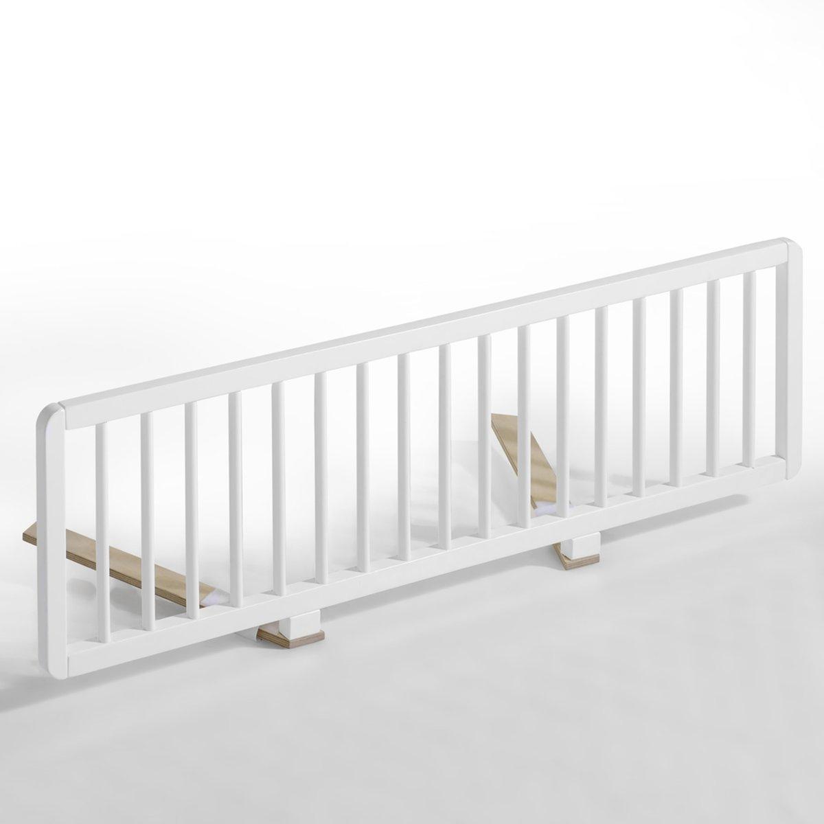 Ограждение для кровати, TellieОграждение для кровати Tellie незаменимо для того, чтобы избежать падения, размещается между матрасом и основанием кровати (подходит для всех типов оснований: решетчатых или панельных). Простое и быстрое крепление. Описание ограждения для кровати, Tellie:Ультракомпактное, просто устанавливается и не занимает много места .  Характеристики ограждения для кровати, Tellie:Каркас из бука, решетка с содержанием бука, покрытие из белого лака  .Найдите всю коллекцию Tellie на нашем сайте. Размеры ограждения для кровати, Tellie :Длина: 125 смВысота: 38 смРазмер и вес с упаковкой1 упаковка130 x 8 x 35 см 7 кгДоставка на домОграждение для кровати Tellie продается готовым к сборке!Ваш товар будет доставлен по назначению, прямо на этажВнимание! Пожалуйста, убедитесь, что упаковка пройдет через проемы (двери, лестницы, лифты)<br><br>Цвет: белый