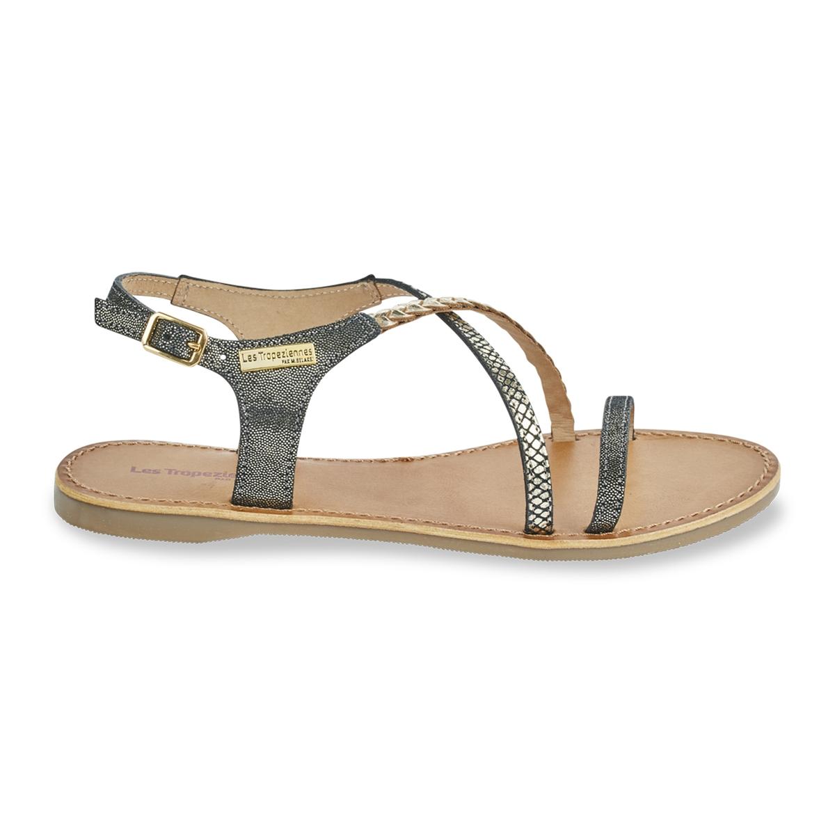 Sandálias em pele Horse