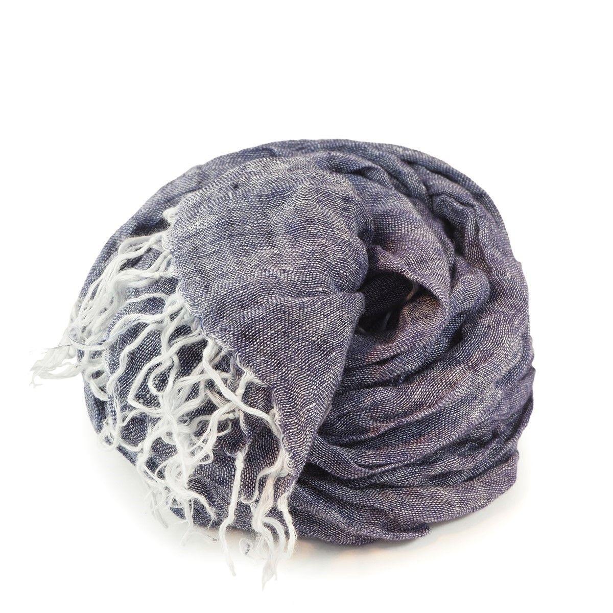 Foulard Fougères boliviennes en laine