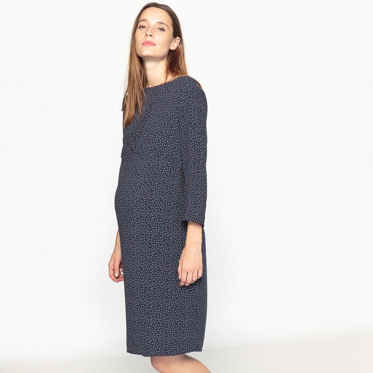 Платье прямое для периода беременности