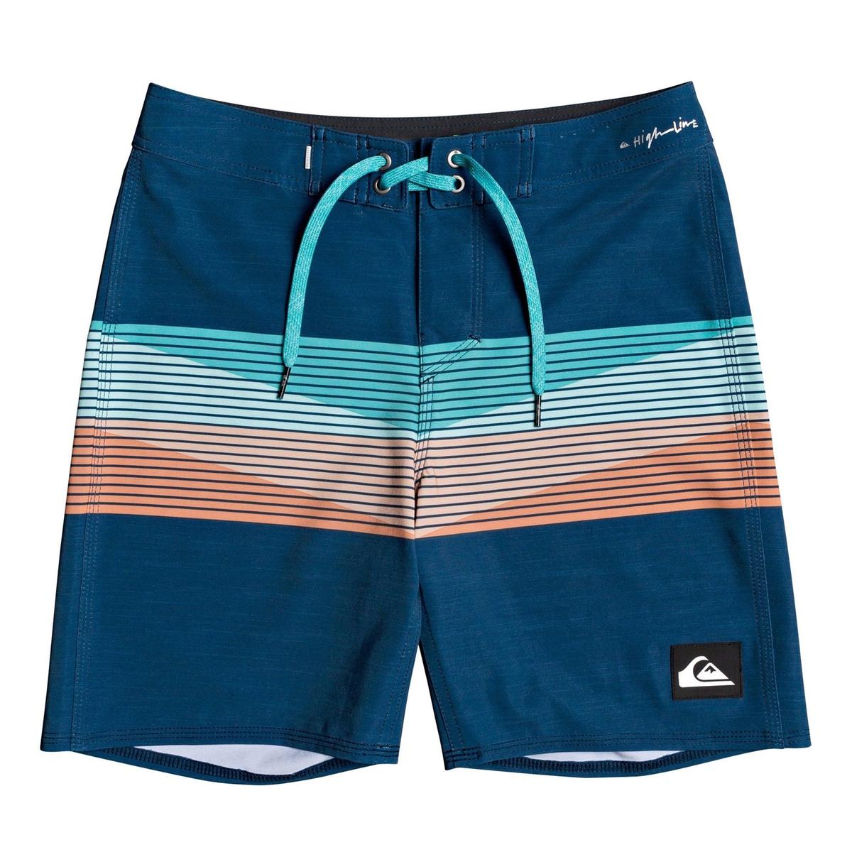 Шорты La Redoute Пляжные 8 лет - 126 см синий шорты la redoute плавательные с принтом крабы 8 лет 126 см синий