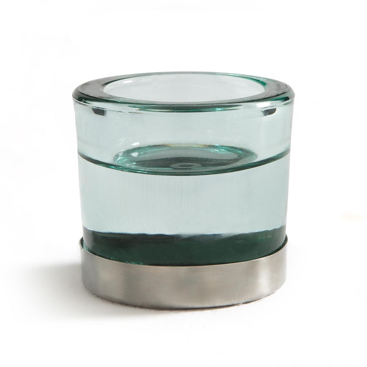 Подсвечник из стекла и металла, OROUN homereligion ваза подсвечник серебрянная из стекла