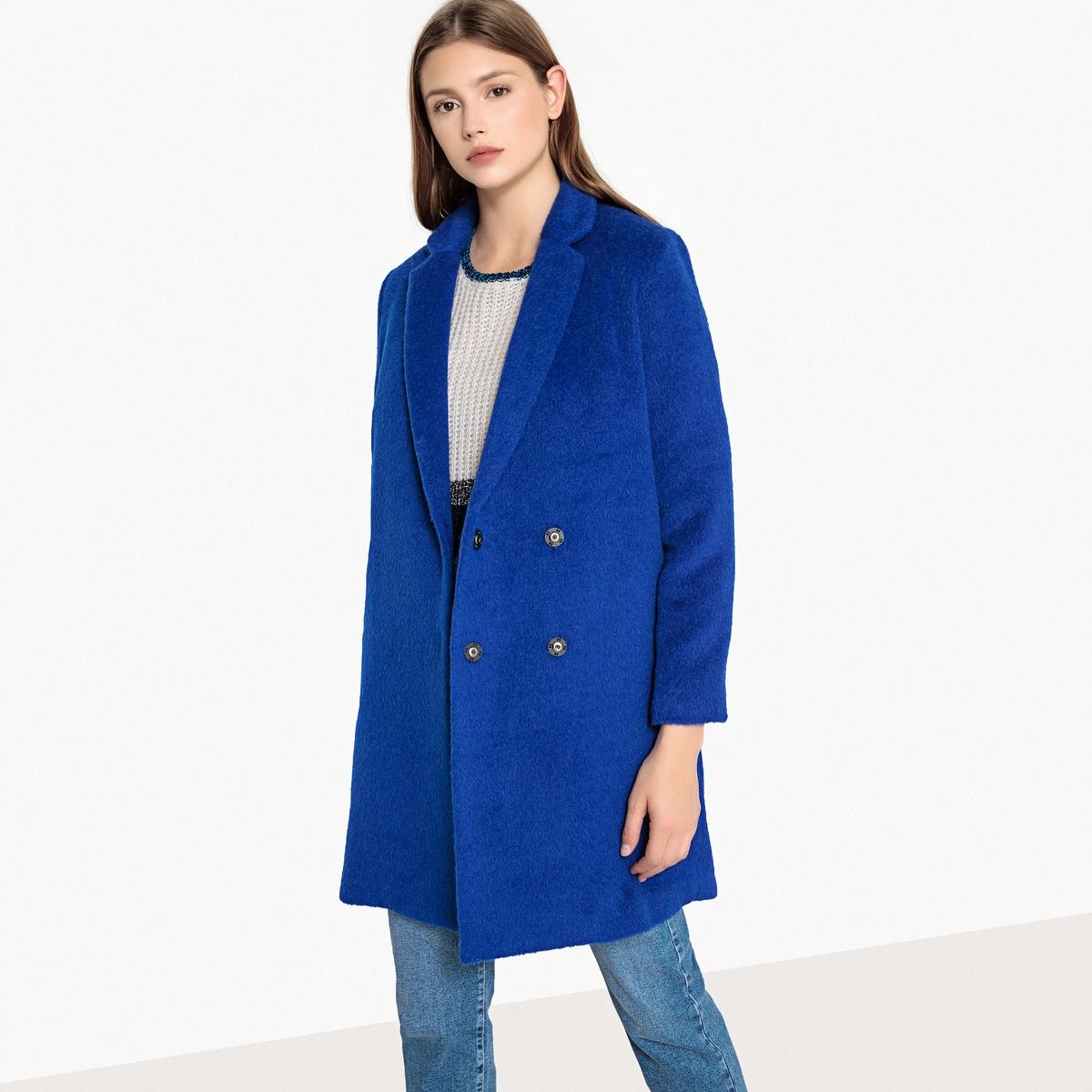 Пальто длинное шерстяное EUGENIE