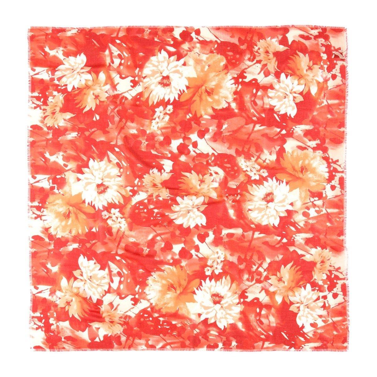 Foulard imprimé fleurs