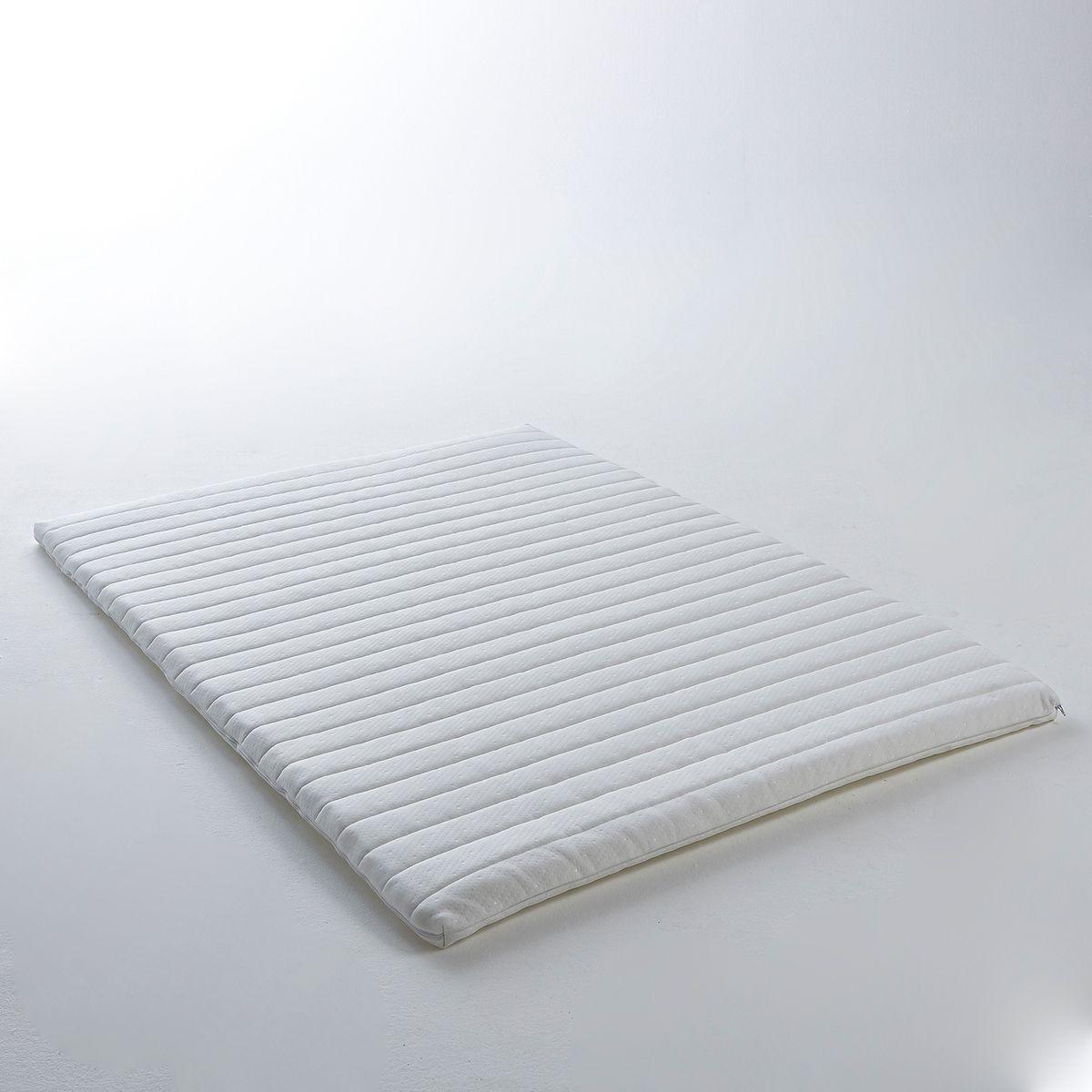 Surmatelas mémoire de forme, traité non feu, H5 cm