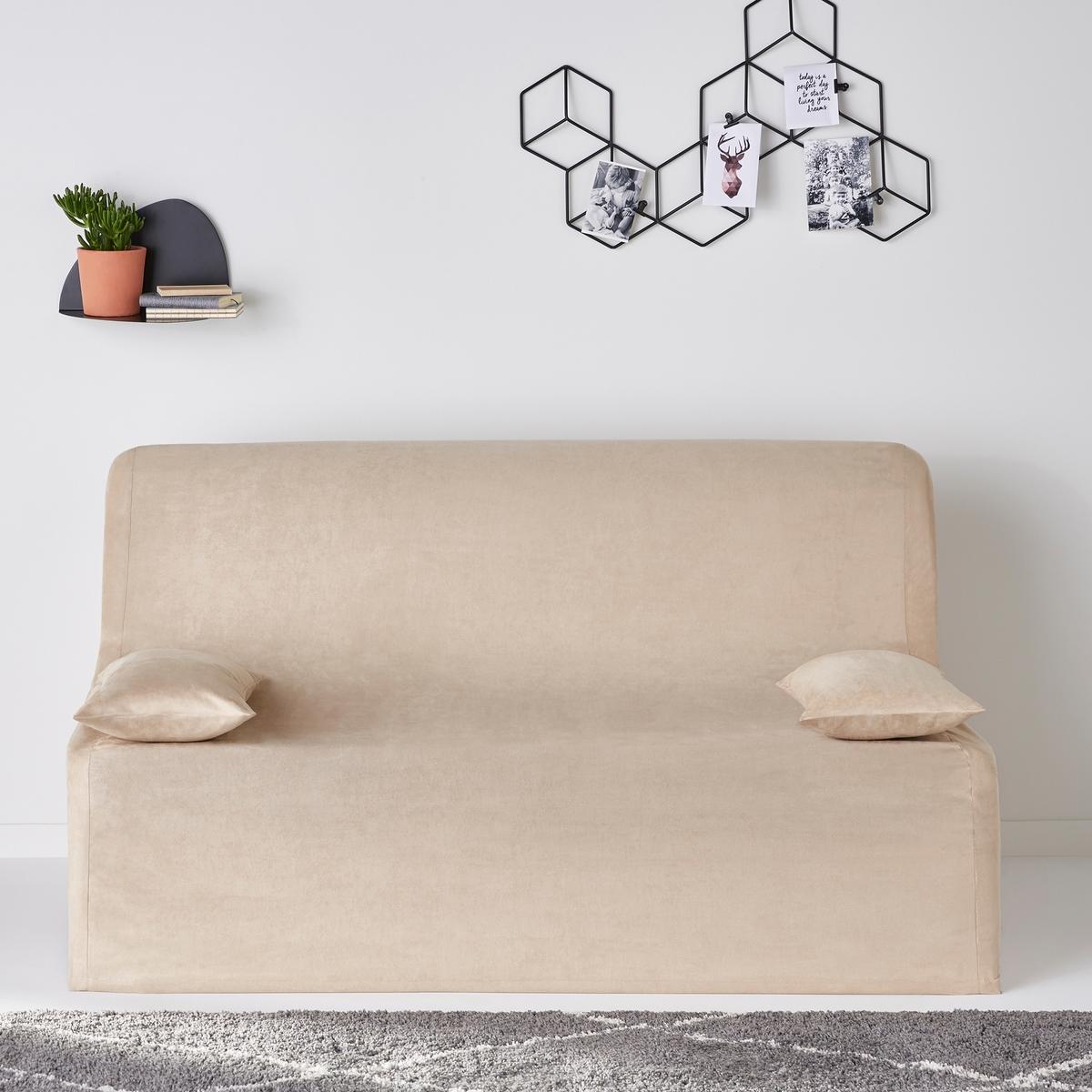 Чехол из искусственной замши для раскладного дивана, KALAОписание:Чехол из искусственной замши для раскладного дивана, KALA. Добавьте стиля вашему интерьеру! благодаря этому чехлу для раскладного дивана из искусственной замши, ультра мягкой и бархатистой на ощупь ! Быстро и просто подгоняется под ваш раскладной диван.Характеристики чехла для раскладного дивана KALA :  -микрофибра из искусственной замши 100% полиэстер-Эластичная отделкаРазмеры чехла для раскладного дивана KALA :-2 ширины : 140 или 160 см.  -Глубина 56 см.Рекомендации по уходу :Машинная стирка при 30°C<br><br>Цвет: бежевый,серый