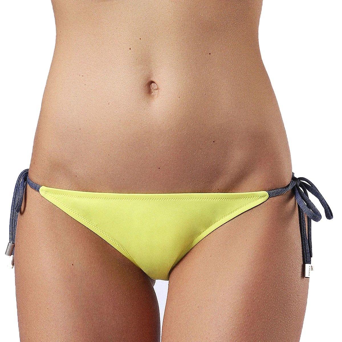 Bas de maillot de bain bicolore ajustable Brigittes