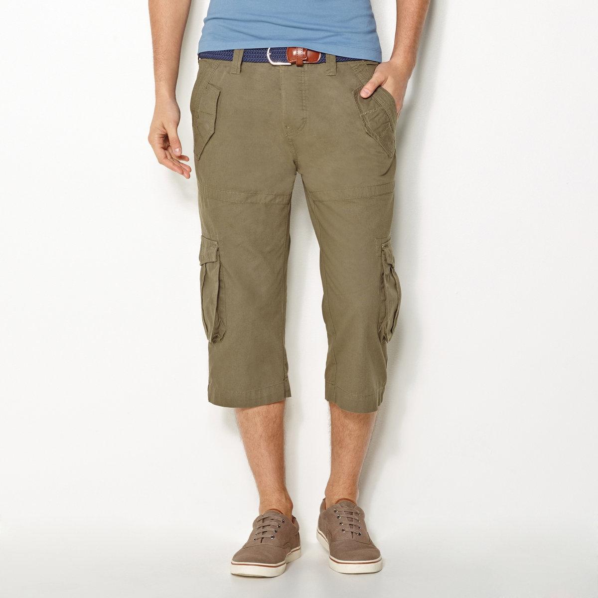 Pantaloni a pinocchietto in cotone