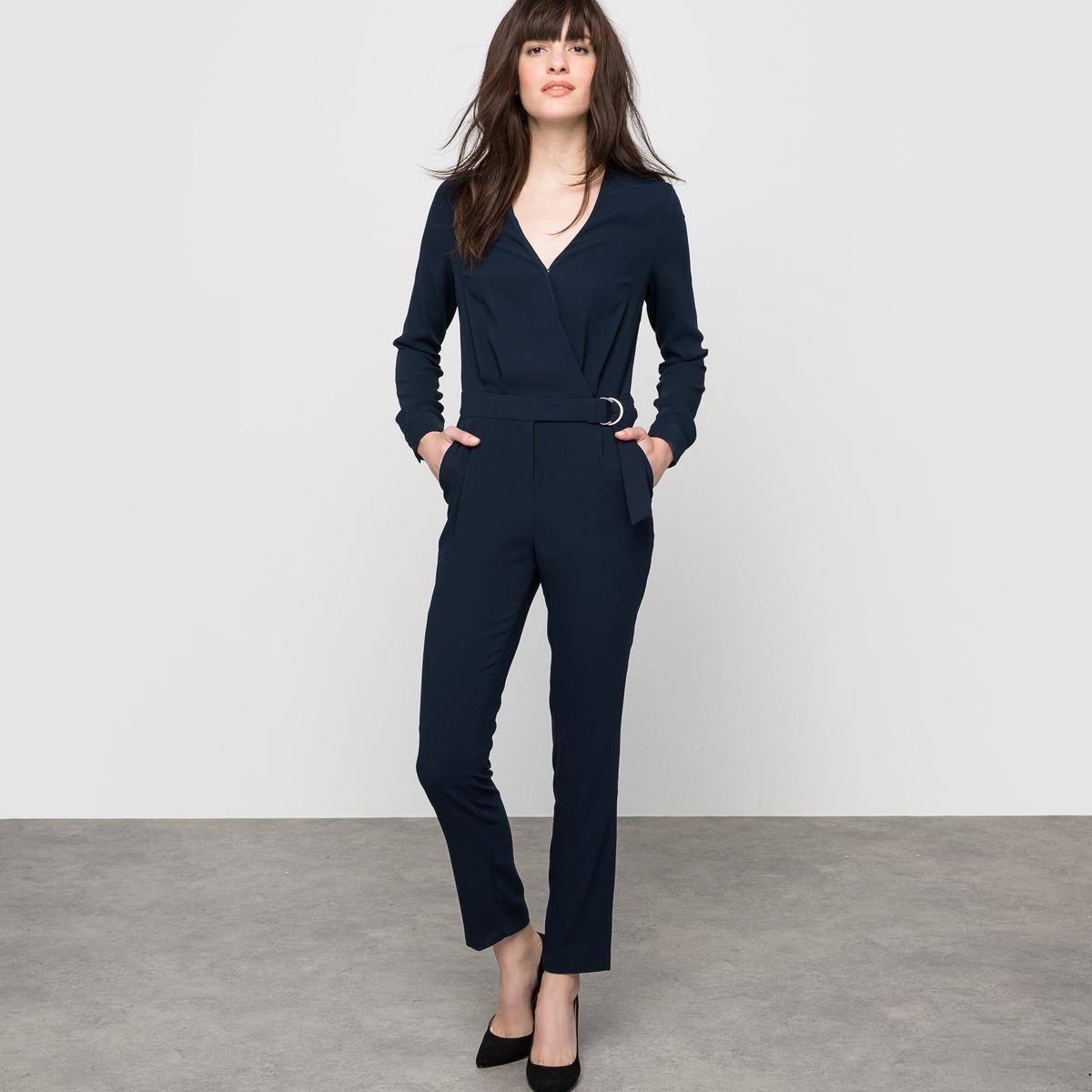 Комбинезон с брюками и длинными рукавами от La Redoute