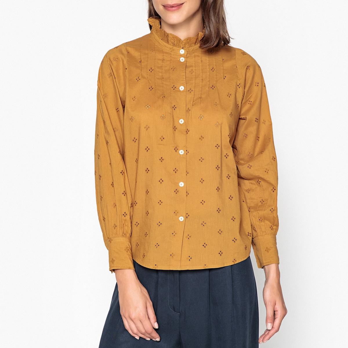 Рубашка со стоячим воротником с длинными рукавами DORISSE
