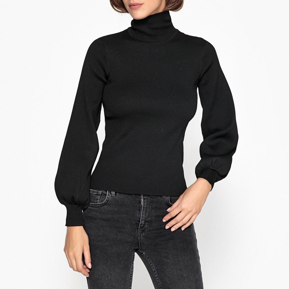 Пуловер с воротником-стойкой из тонкого трикотажа пуловер mavi mavi ma008ewvvu35