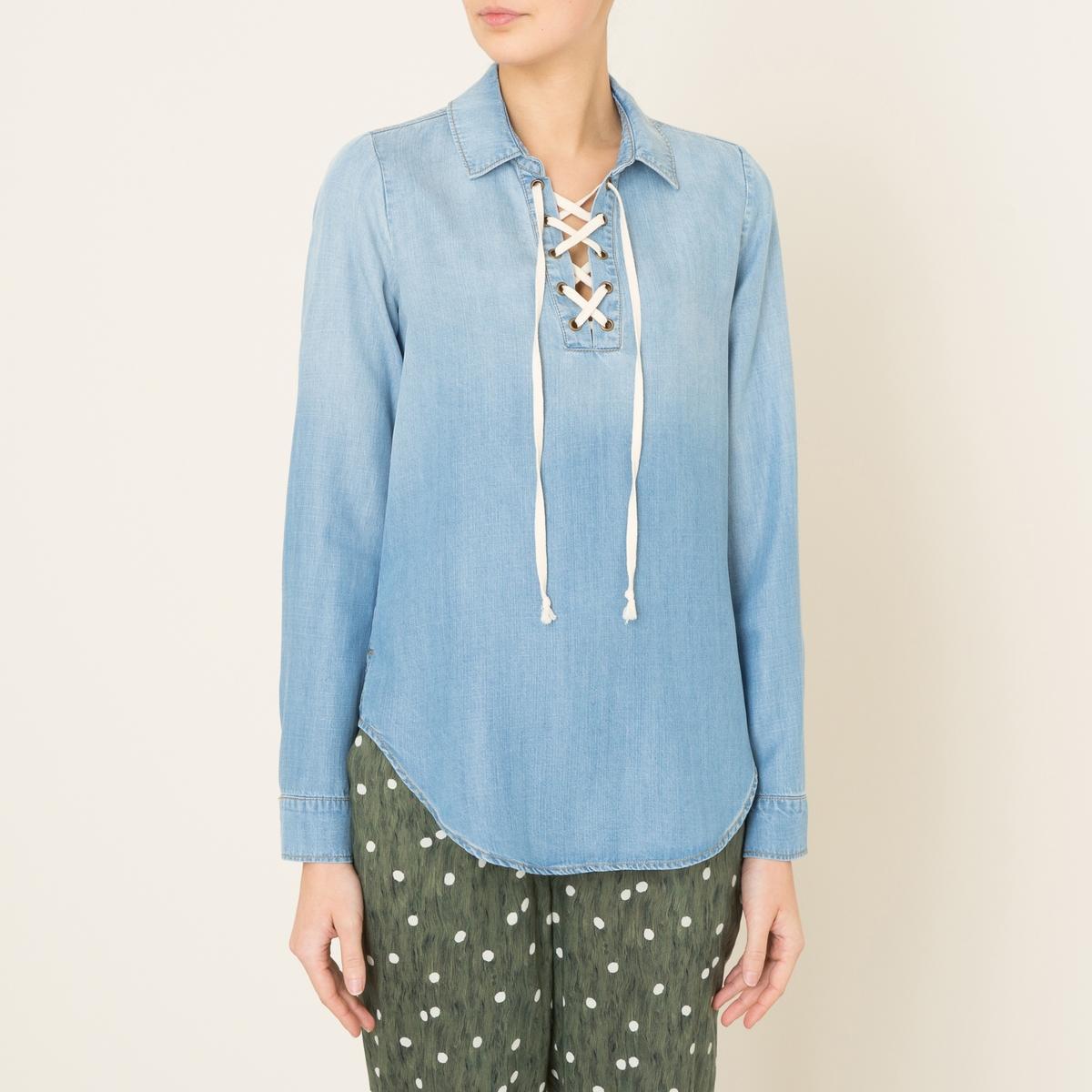 Блузка CAPUCINE брюки из тенсела