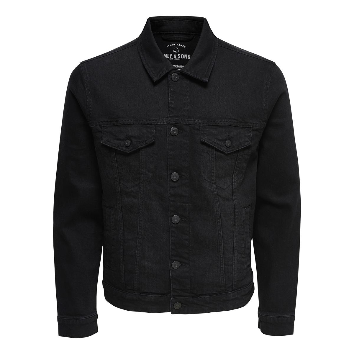 Жакет прямого покроя из джинсовой ткани hiipoo джинсовая куртка
