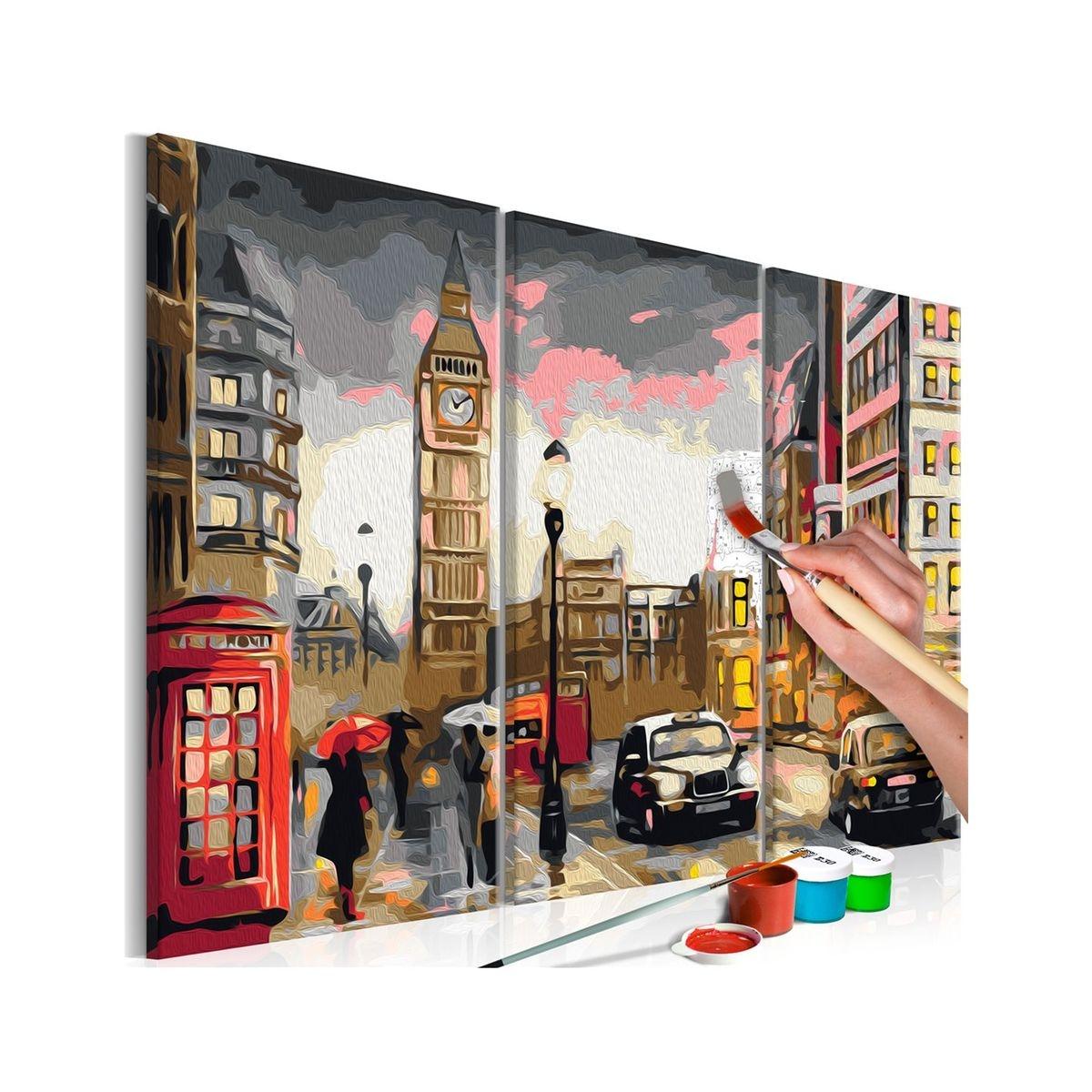 Tableau à peindre soi-même - Callejón de Londres
