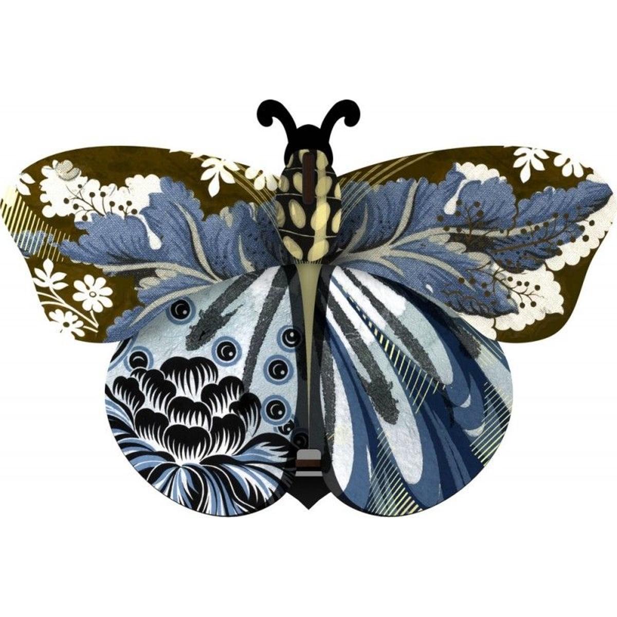 Papillon décoratif miroir mural bois Unexpected Things Abigaille